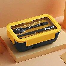 Tragbare Kunststoff Lunch Box mit Löffel