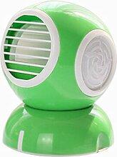 Tragbare Mini-USB-Ventilator Klimaanlage Ventilator Kleine Lüfter grün