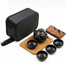 Tragbare Reise Kungfu Tee Set handgemachte