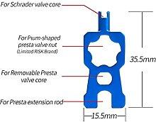 Tragbare Reparatur Fahrradventil Werkzeuge Ventile