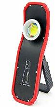 Tragbare Taschenlampe, 60 W, USB wiederaufladbar,