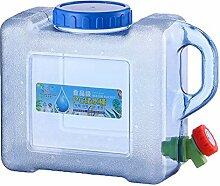 Tragbarer Camping Wasserbehälter mit Deckel und