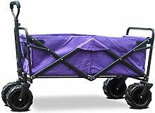 Tragbarer Gartenwagen mit 4 Rädern,