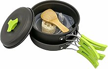 Tragbares Camping-Kochgeschirr Kochset für