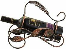 Tragbares Weinregal für Einzelflasche
