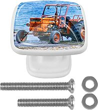 Traktor Blue Sea Kommode Griff mit Schrauben