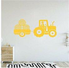 Traktor Wand Vinyl Aufkleber Für Jungen