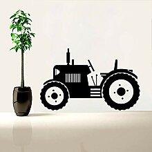 Traktor Wandtattoo Große Reifen Farmer Fahrzeug