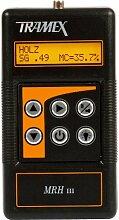 Tramex MRH 3 Digital Feuchtigkeitsmesser, zerstörungsfreie Messung, Hygrometer und Hammerschlag-Elektrode für Holz