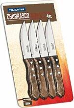 Tramontina Jumbo Steakmesser, Set 4 Stück,