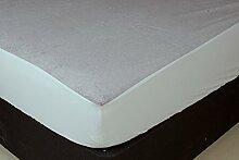 Trance Home Leinen Wasserdicht & Staubdicht Matratzenschoner Kleine Größe 182,9x 76,2cm–Grau
