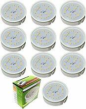 Trango 10er Pack 10TGMO15 LED Modul 6 Watt 3000K