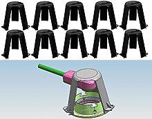 Trango 10er Pack Abstandshalter Hitzeschutz TG-ASH