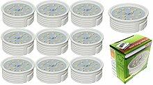 Trango 10er Pack dimmbar LED Modul Leuchtmittel