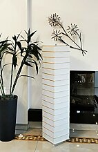 Trango 1214 Modern Design Reispapier Stehlampe