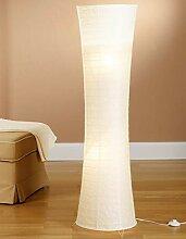 Trango 1229 Modern Design Reispapier Stehlampe