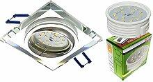 Trango 1er Set Design dimmbar LED Einbaustrahler