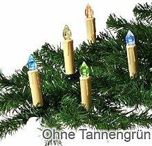 Trango 24 LED Weihnachtskerzen mit Stecksystem