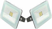 Trango 2er Pack 12V - 24 Volt DC 10 Watt LED