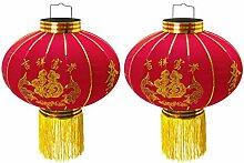 Trango 2er Pack chinesische Laterne Pendel