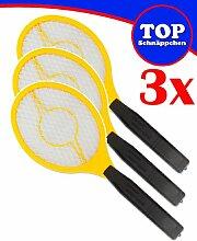 Trango® 3er Pack elektrische Fliegenklatsche
