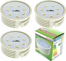 Trango 3er Pack LED Modul 3 Watt 3000K nur 30mm