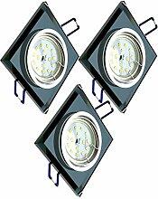Trango 3er Set Design LED Einbaustrahler