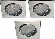 Trango 3er Set LED Einbaustrahler I Einbauleuchten