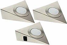 Trango 3er Set LED Unterbauleuchte TG6739-32 /