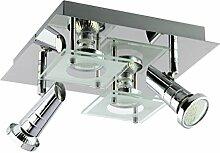 Trango 4-flammig LED Design Deckenspots TG3089 in