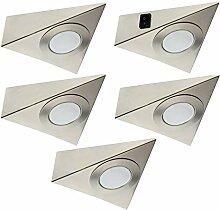 Trango 5er Set LED Unterbauleuchte TG6739-52