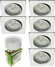 Trango 6er Set 6729-068SMOSD LED Einbaustrahler in