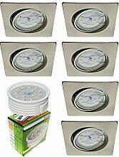 Trango 6er Set LED Einbaustrahler TG6729-062SMO in
