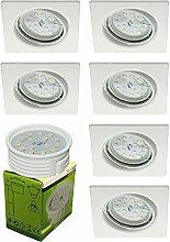 Trango 6er Set LED Einbaustrahler TG6729-066SMO in