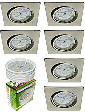 Trango 6er Set ultra flache LED Einbaustrahler