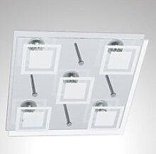 TRANGO LED Deckenleuchte, 5-flammig 3153 LED