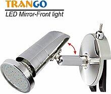 Trango LED Spiegelleuchte Bad Lampe Badleuchte mit