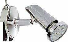 Trango LED Spiegelleuchte TG2248 I Bad Lampe I