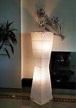 TRANGO LED Stehlampe, 1209 Papier Standleuchte