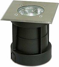 Trango TG3084S Bodeneinbaustrahler Wegbeleuchtung IP65 (Eckig)