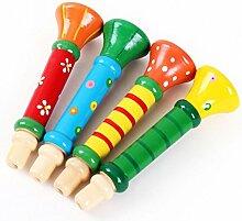 Transer® Spielzeug für Kids–Holz Hupenball Trompete instruments- Baby Musik Spielzeug Geschenk