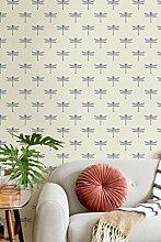 Transform Dragonflies Peel and Stick Wallpaper