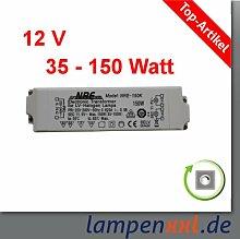 Transformator 35 - 150 Watt, elektronischer Halogen Trafo VDE 12V