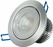 Transmedia LED-Einbaustrahler 230 V/9.5 W, 570 lm,