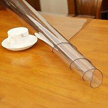 Transparent PVC Tischdecke Tischschutz hochwertig