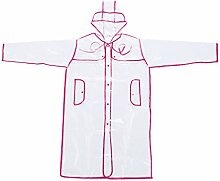 Transparent Regenmantel EVA Regenjacke für Kinder