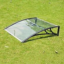 Transparent Tür Canopy PC Polycarbonat Markise
