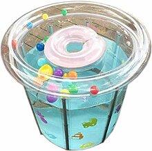 Transparente aufblasbare Runde Pools,