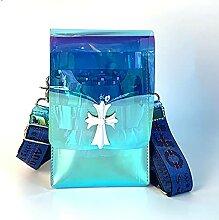 Transparente Friseur-Schere-Tasche