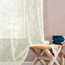 Transparente Gardinen Fenstervorhänge für